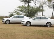 Volkswagen Passat vs Skoda Superb 2