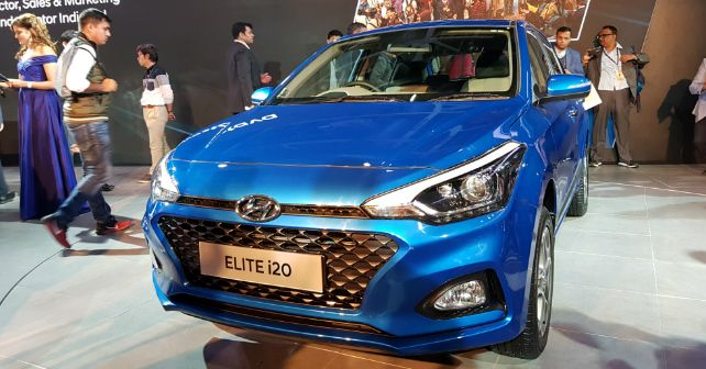 Auto Expo 2018 Hyundai Elite I20 Facelift Launched Autox