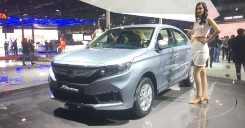 Auto Expo 2018 Honda Showcases New Amaze Civic And CR V