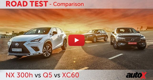 Lexus NX 300h vs Audi Q5 vs Volvo XC60 Comparison Video ...