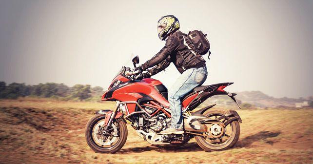 Ducati Multistrada 1200S action2