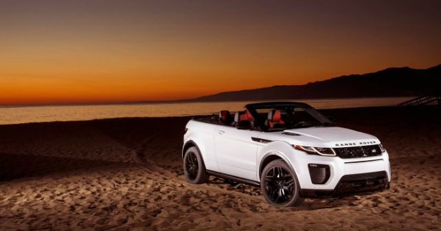 Range Rover Evoque Convertible Launch Date Announced Autox