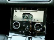 Range Rover Velar dasboard screen