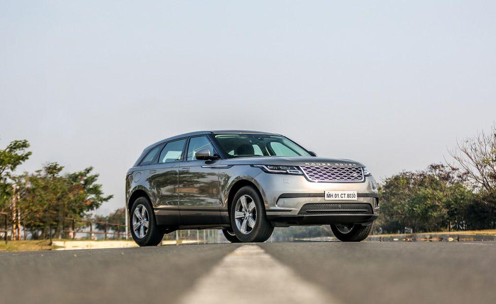 Range Rover Velar front three quarter