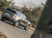 Range Rover Velar rear three quarter