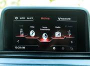 Tata Nexon dashboard screen