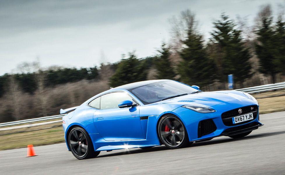 jaguar f type svr action