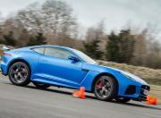 jaguar f type svr cornering