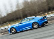 jaguar f type svr side profile dynamic
