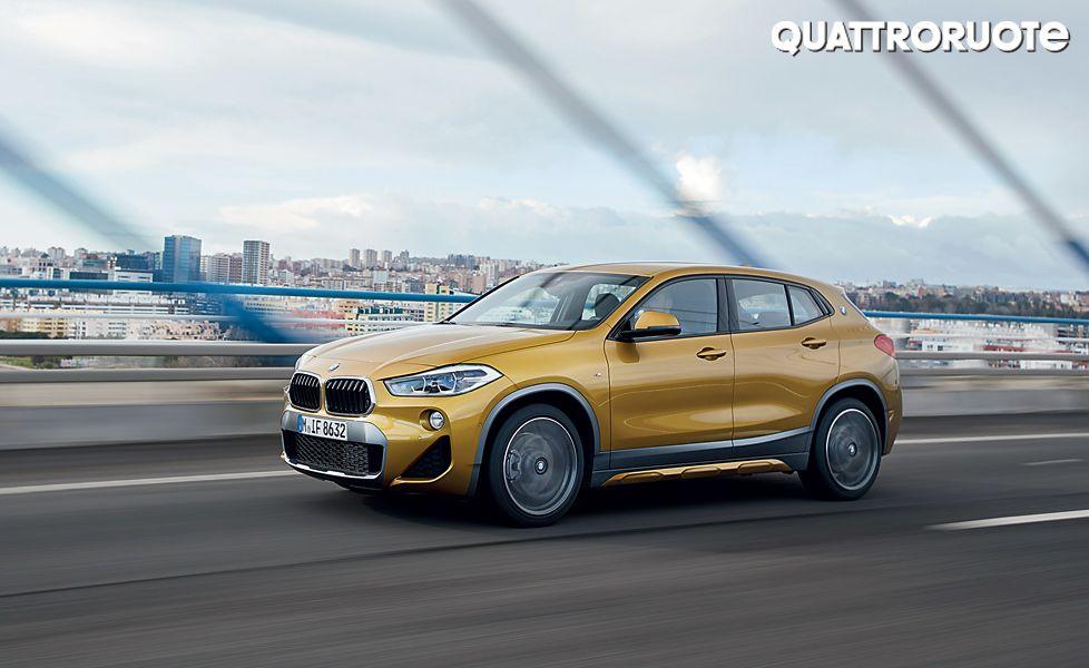 BMW X2 Xdrive 20d side profile4