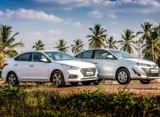 hyundai verna vs toyota yaris comparison