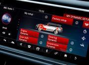 range rover sport svr infotainment screen3
