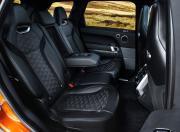 range rover sport svr rear seat