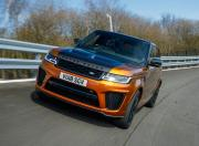 Range Rover Sport Svr Front Three Quarter Motion