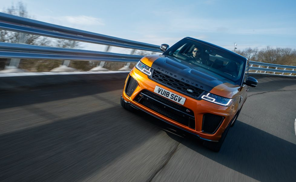 Range Rover Sport Front Three Quarter