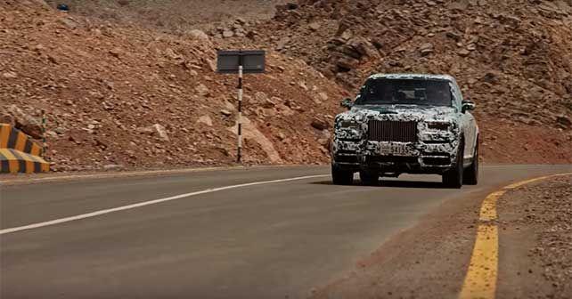 2018 Rolls Royce Cullinan The Final Challenge Web Series1