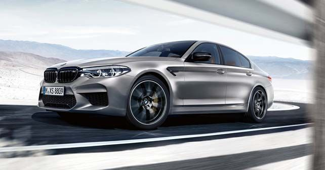 2019 BMW M5 Competition Revealed