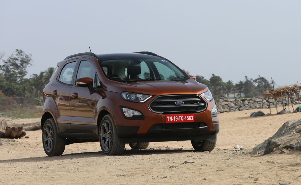 Ford EcoSport S Ecoboost front three quarter
