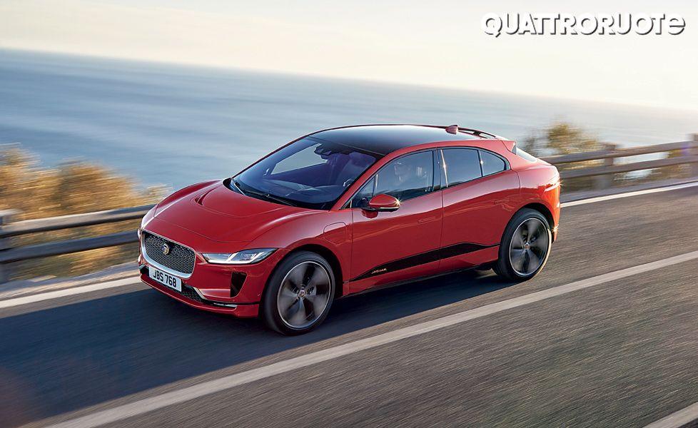 Jaguar I Pace Motion