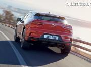 Jaguar I Pace rear