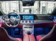 Mercedes Benz CLS 400d 4Matic interior