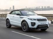 Range Rover Evoque Convertible action