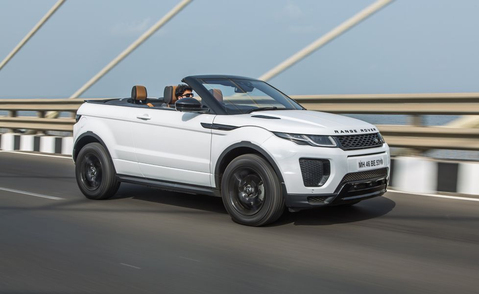 Range Rover Evoque Convertible motion g2