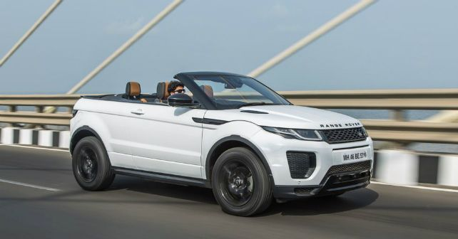 Range Rover Evoque Convertible Review First Drive Autox