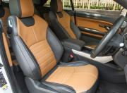 Range Rover Evoque Convertible seats