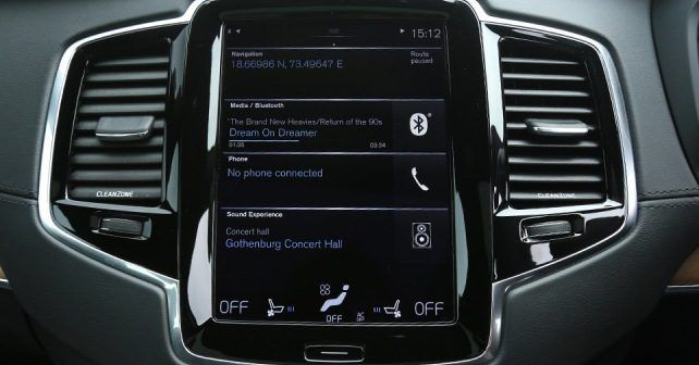 Volvo XC90 Infotainment Screen1