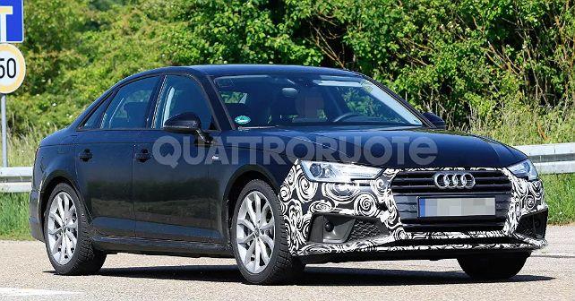 Audi A4 Facelift Spied 1