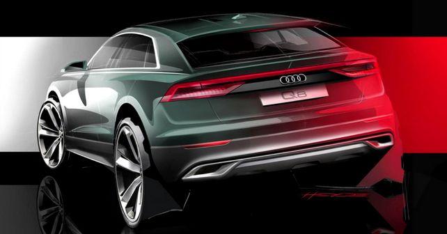 Audi Q8 Teased