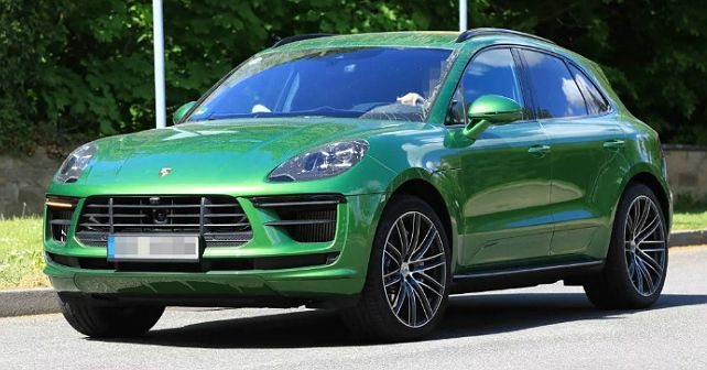 Macan Facelift Spied 1