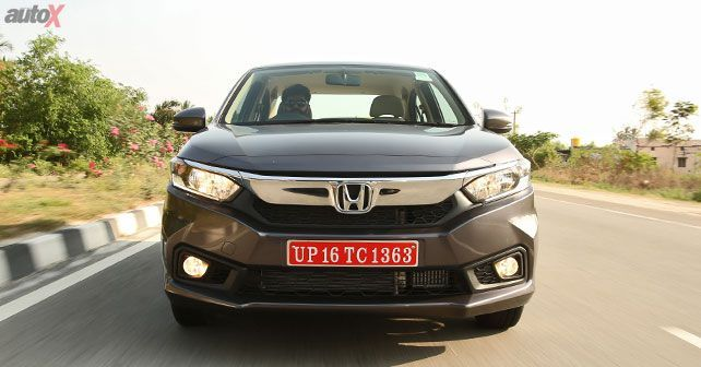 New Honda Amaze Front
