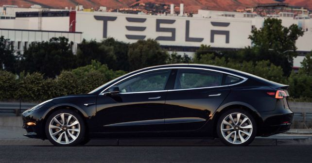 Tesla Model Production Begins M