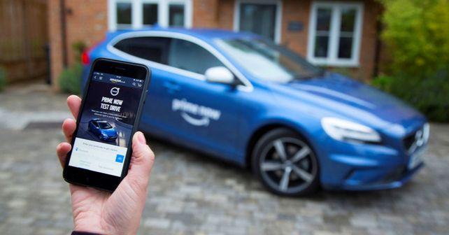 Volvo Amazon Prime Now