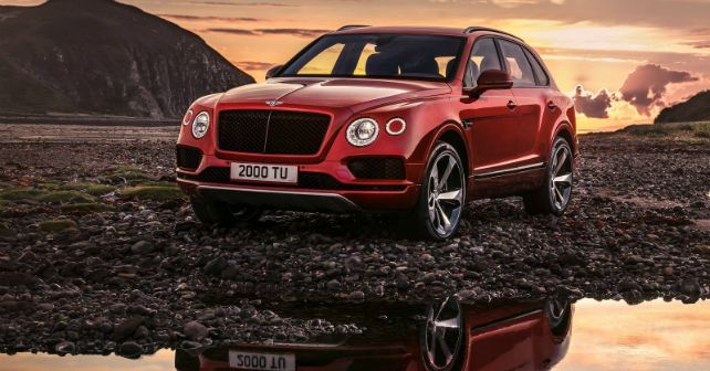 2018 Bentley Bentayga V8 India Launch M