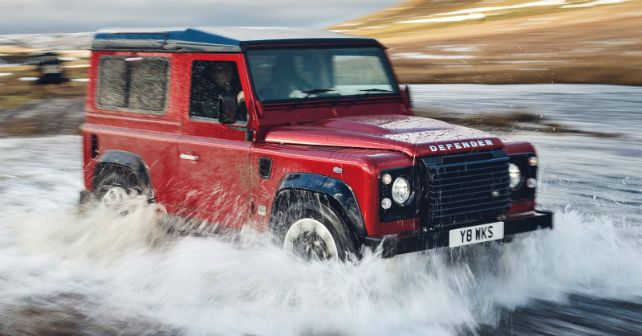 2018 Land Rover Defender Works M