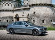 2018 Mercedes Benz C Class image C 200 Front Three Quarter Angle Static 1