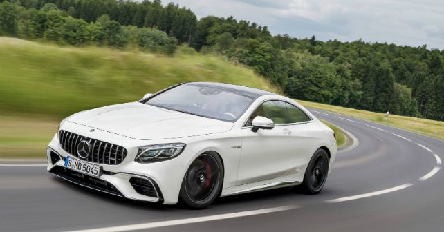 2018 Mercedes Benz S63 AMG Coupe India Launch M