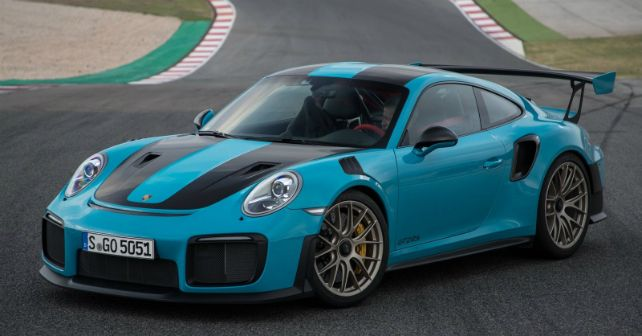 2018 Porsche 911 GT2 RS Static India Launch M