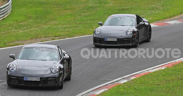 2019 911 Spied 1