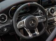 2019 Mercedes AMG C43 4MATIC Cabin Interior Steering wheel