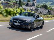 2019 Mercedes AMG C43 4MATIC Convertible Front Motion 1