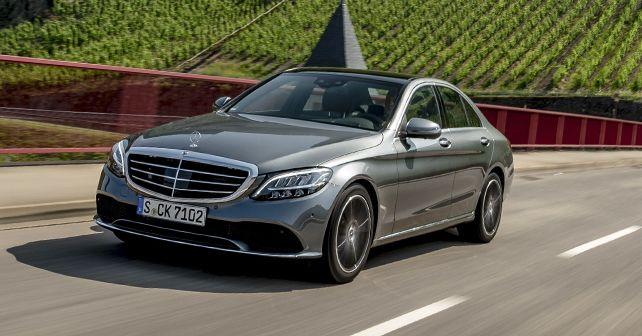 2019 Mercedes Benz C Class C 200 Petrol Front Dynamic Motion
