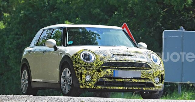 Clubman facelift spied 2
