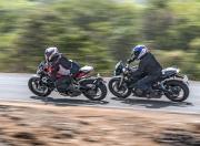 Ducati Monster motion