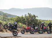 Ducati Monster vs MV Agusta Brutale vs Triumph Street Triple S vs Aprilia Shiver