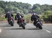 Ducati Monster vs MV Agusta Brutale vs Triumph Street Triple S vs Aprilia Shiver3