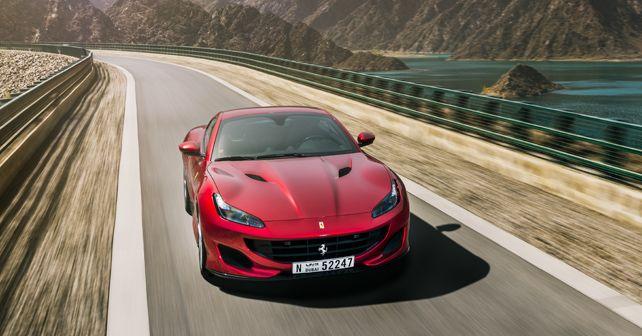 Ferrari Portofino Front Three Quarter Motion